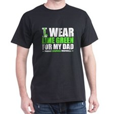 I Wear Lime Green Dad T-Shirt