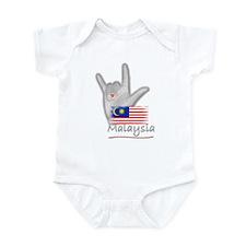 I Love You - Malaysia - Infant Bodysuit