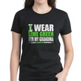 I Wear Lime Green Grandma Tee