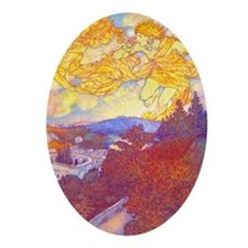 Sunrise Keepsake (Oval)