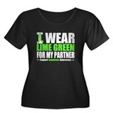 I Wear Lime Green Partner Women's Plus Size Scoop