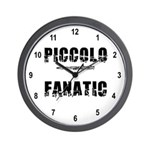 Piccolo Fanatic Wall Clock