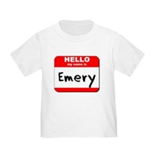 Hello my name is Emery T