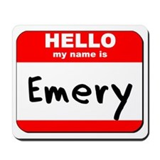 Hello my name is Emery Mousepad