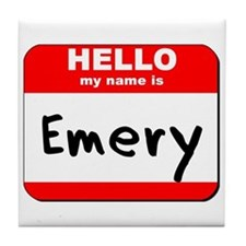 Hello my name is Emery Tile Coaster