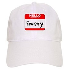 Hello my name is Emery Baseball Cap