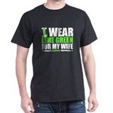 I Wear Lime Green For My Wife T-Shirt