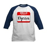 Hello my name is Elyssa Tee