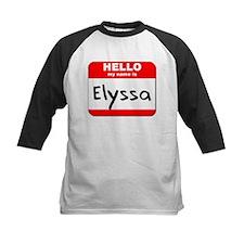 Hello my name is Elyssa Tee