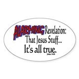 ALARMING Revelation Oval Decal