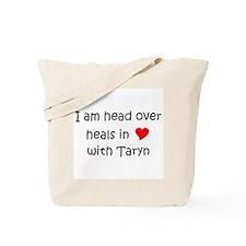 Unique Heart taryn Tote Bag