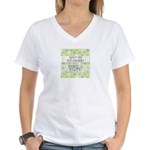 Love to Scrapbook Women's V-Neck T-Shirt