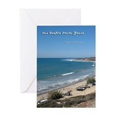 San Onofre State Beach Greeting Card