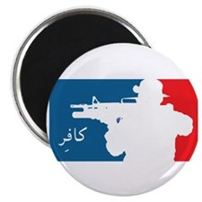 "Major League type Infidel 2.25"" Magnet (10 pack)"