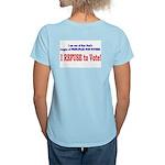 NO VOTE #3 Women's Light T-Shirt