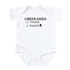 Therapist Career Goals - Rockstar Infant Bodysuit