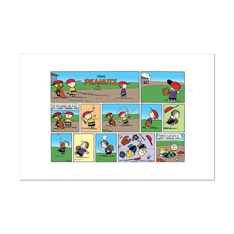 Great Throwing Arm Mini Poster Print