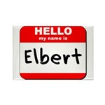 Hello my name is Elbert Rectangle Magnet (10 pack)