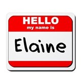 Hello my name is Elaine Mousepad