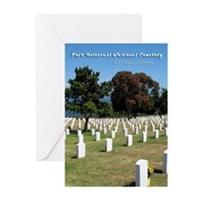 Fort Rosecrans National Cemetery Greeting Cards (P