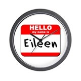 Hello my name is Eileen Wall Clock
