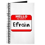 Hello my name is Efrain Journal