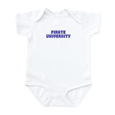 Pirate University Infant Bodysuit