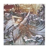 Undine Tile Coaster