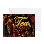 Tea Dark Greeting Card
