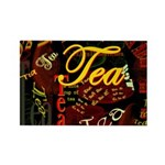 Tea Dark Rectangle Magnet (10 pack)