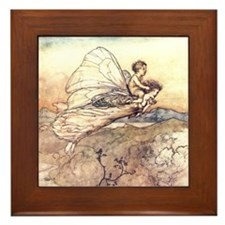 Her Fairy Sent Framed Tile