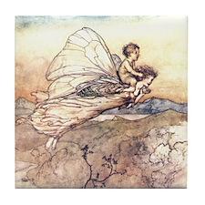 Her Fairy Sent Tile Coaster