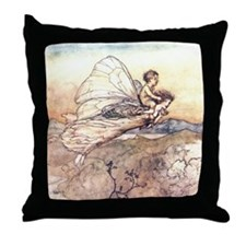 Her Fairy Sent Throw Pillow