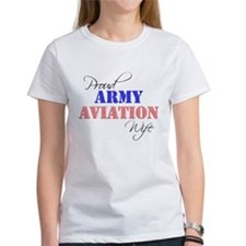 Proud Army Aviation Wife Tee