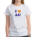 I Love AU Women's T-Shirt