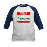 Hello my name is Donavan Tee