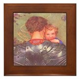 A Sweet Lullaby Framed Tile