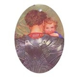 A Sweet Lullaby Keepsake (Oval)