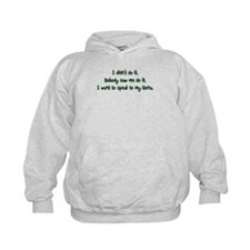 Want to Speak to Nona Hoodie