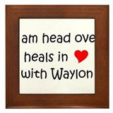 Cool Waylon Framed Tile