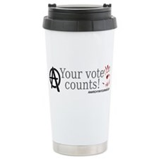 Your Vote Counts Ceramic Travel Mug