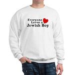 Everyone loves a Jewish Boy Sweatshirt