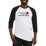 Everyone loves a Jewish Boy Baseball Jersey