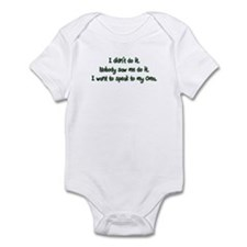 Want to Speak to Oma Infant Bodysuit