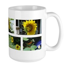 Large Sunflowers Mug