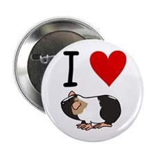 Guinea pig lovers Button