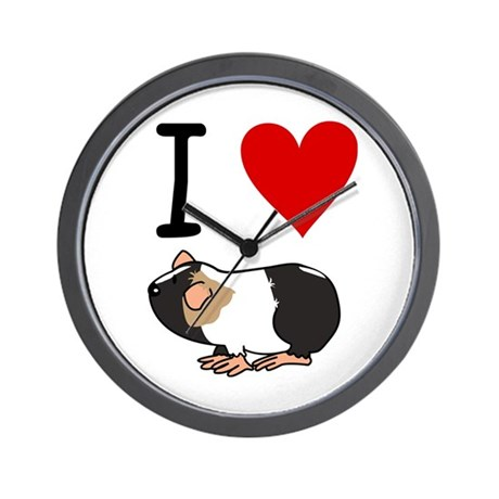 Guinea pig lovers Wall Clock