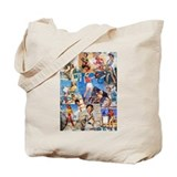 Cowgirl Pin-Ups No.1 Tote Bag