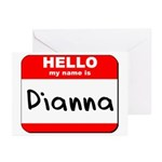 Hello my name is Dianna Greeting Cards (Pk of 10)