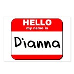 Hello my name is Dianna Postcards (Package of 8)